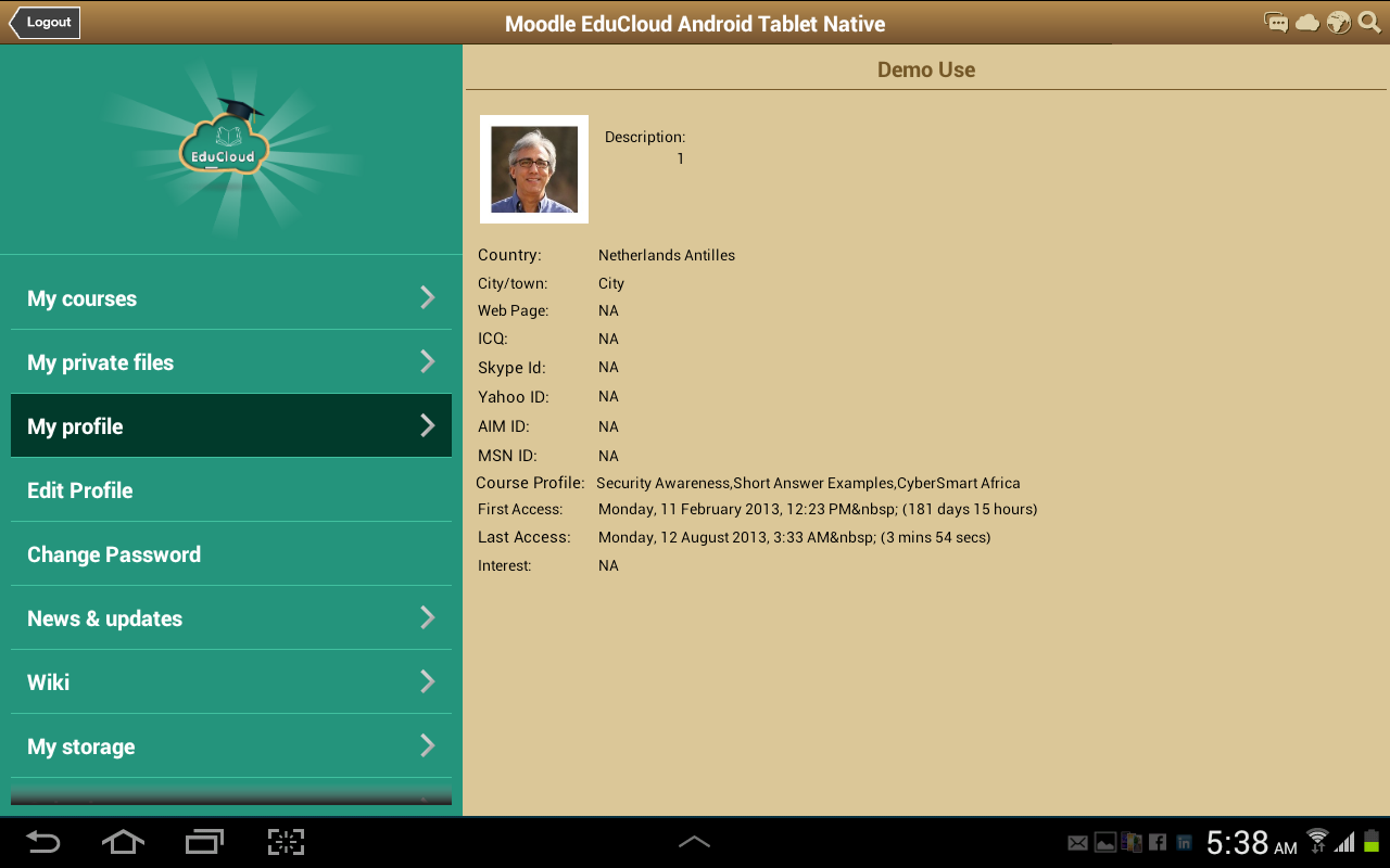 Academy EduCloud Android & iOS - screenshot
