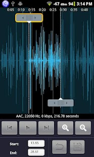 Audio Editor for Android- screenshot thumbnail