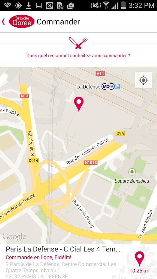 Brioche Dorée- screenshot