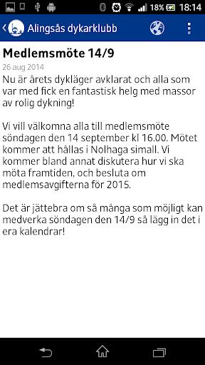 【免費運動App】Alingsås dykarklubb - ADK-APP點子