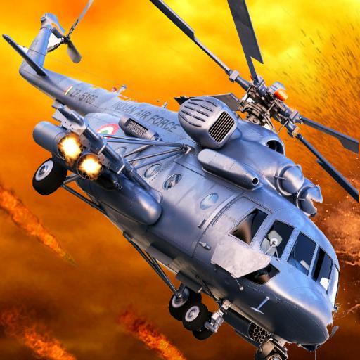 黑鷹武裝直升機陸軍戰爭 動作 App LOGO-硬是要APP