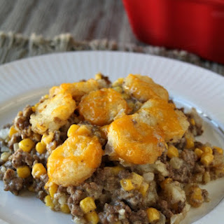 Cheesy Tater Tot Casserole Recipe