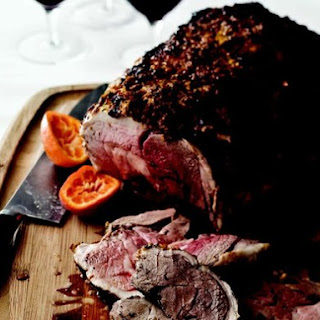 Leg of Lamb in a Clementine Crust.