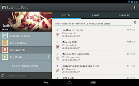 Evernote Food 2.0.7 screenshot 25142