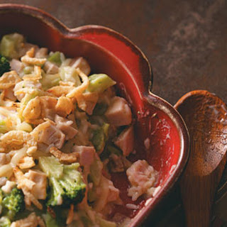 Broccoli Turkey Casserole.