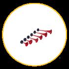 Tour de France Horn icon