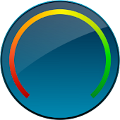 Digital Circle Battery Widget