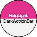 Dark ActionBar Pink CM Theme icon