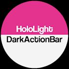 Dark ActionBar Pink CM Theme icon