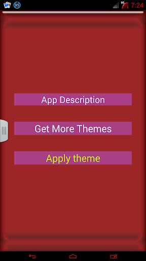 【免費個人化App】红色糖果GO输入法主题-APP點子