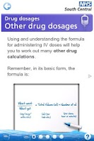 Screenshot of Adult Drug Calculations