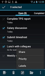 BHive Google Tasks Free screenshot 3