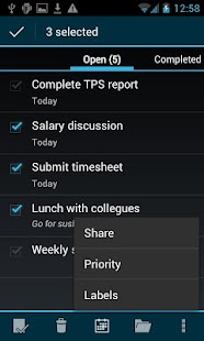 BHive Google Tasks Free- screenshot thumbnail