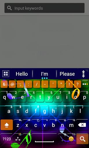 A.I.type theme colorz HD א