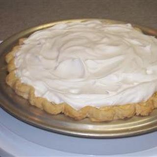 Pineapple Cream Pie.