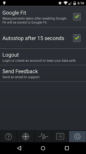 4 Instant Heart Rate App screenshot