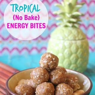 {No Bake} Tropical Energy Bites Recipe