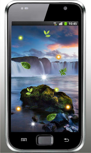 Waterfall n Moon HD LWP