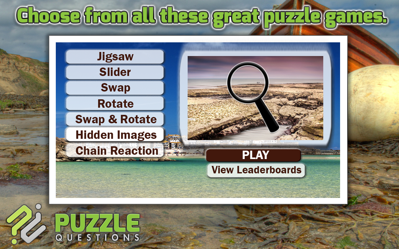 Lovely Seaside Puzzle Games- screenshot