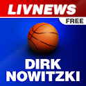 LivNews: Dirk Nowitzki FREE logo