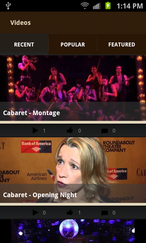 Cabaret the Musical - screenshot