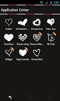 Screenshot of Go SMS Theme Pink Minimal