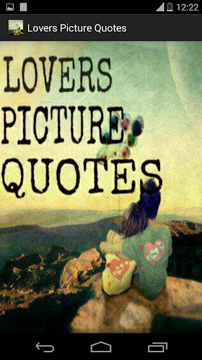 Lovers Picture Quotes