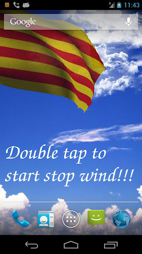 Catalunya Flag Live Wallpaper+