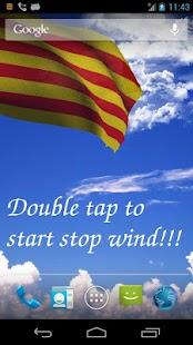 Catalunya Flag Live Wallpaper+ - screenshot thumbnail