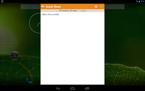Quick Social (DEMO) Screenshot 9