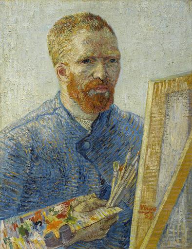 Self-Portrait as a Painter - Van Gogh Museum