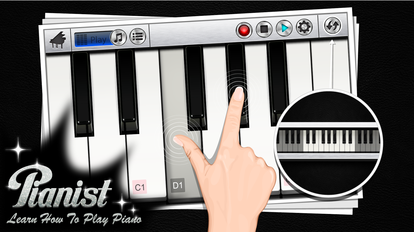 Piano +- screenshot