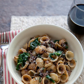Cabernet Braised Short Ribs with Chard and Orecchiette Recipe