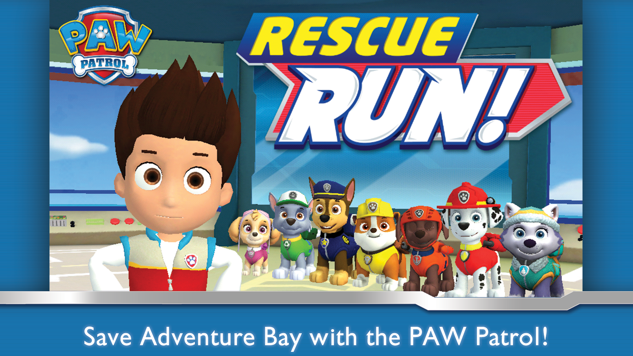 PAW Patrol Rescue Run - screenshot