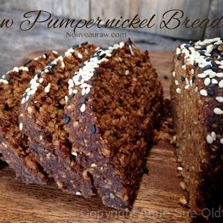 Raw Pumpernickel Bread