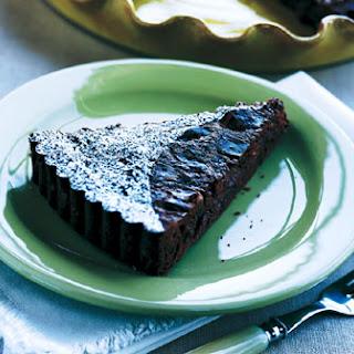 Chocolate-Cherry Tart.