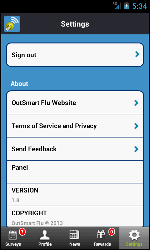 OutSmart Flu - screenshot