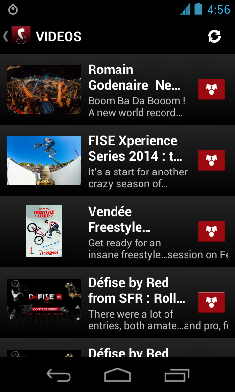FISE Action Sports Events - screenshot