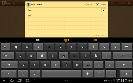 ThickButtons Keyboard Screenshot 9