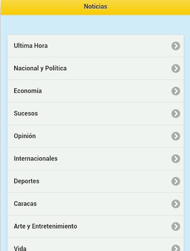 玩免費新聞APP|下載Venezuela Notícias app不用錢|硬是要APP