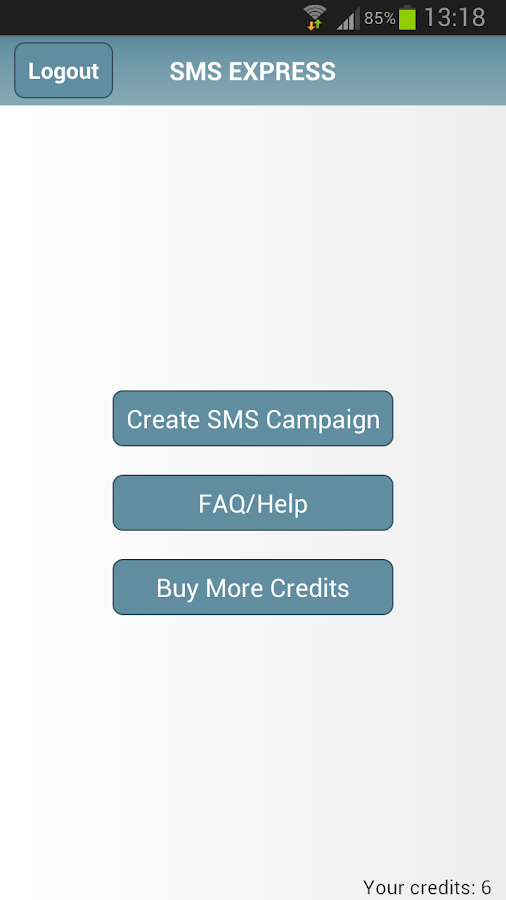 SMS Express Text App- screenshot
