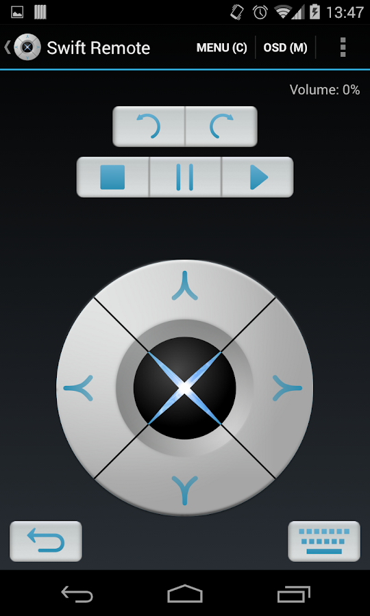 Swift Remote - screenshot