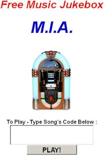 M.I.A. Jukebox - screenshot thumbnail