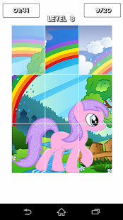 Little Pony : Puzzle Game