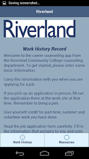 Work History Record- screenshot thumbnail