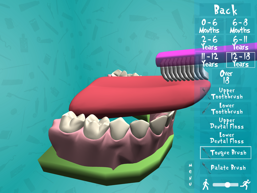 Cleaning Your Teeth - screenshot