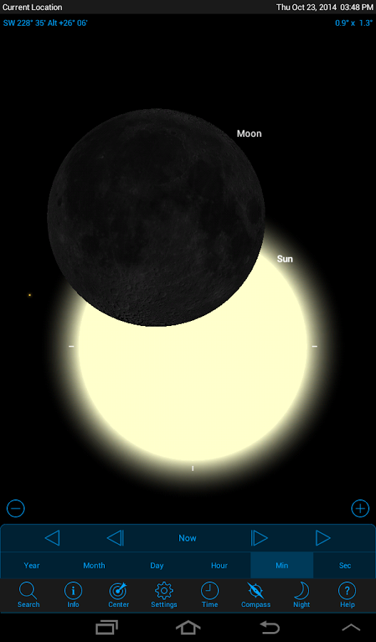 SkySafari 4: Astronomy & Space- screenshot
