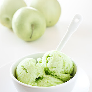 Green Apple Sorbet.