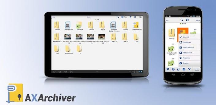 Ax-Zip Archiver V2.0