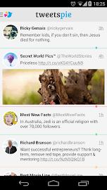 TweetsPie Screenshot 1